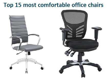 top 15 most comfortable office chairs in 2017 - officegearzone