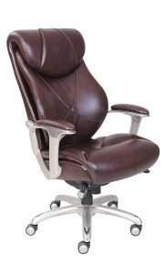 1.La Z Boy 45776 Cantania Executive Bonded Leather Office Chair