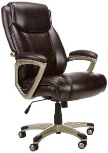 10.AmazonBasics Big & Tall Executive Chair