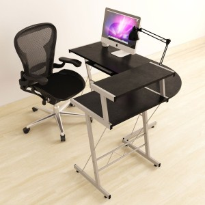 10.BHG L-SHAPED COMPUTER DESK