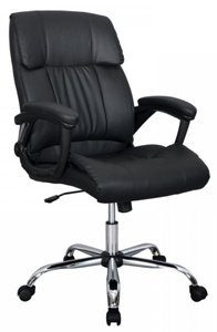 11. BestOffice Black PU Leather Ergonomic High Back Executive Best Desk Task Office Chair