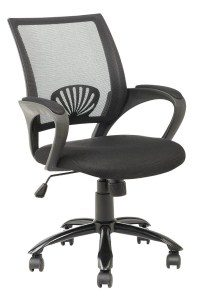 13.BestOffice Black Ergonomic Mesh Computer Office Desk Midback Task Chair