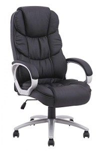 14.BestOffice Ergonomic PU Leather High Back Office Chair