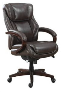 2. La-Z-Boy 45783 Bellamy Executive Bonded Leather Office Chair