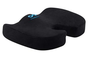 2.Everlasting Comfort Memory Foam Luxury Seat Cushion