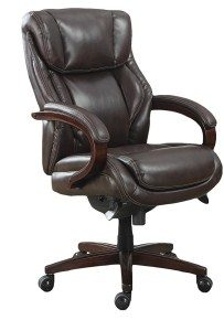 2.La Z Boy 45783 Bellamy Executive Bonded Leather Office Chair