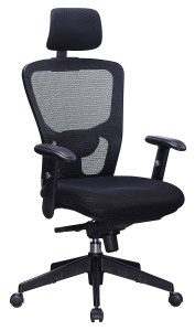 2.Office Factor Ergonomic High Back Executive Mesh Chair