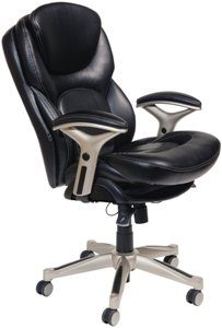 3. Serta 44186 Back in Motion Health and Wellness Mid-Back Office Chair
