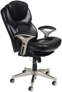 3.Serta 44186 Back in Motion Health and Wellness Mid-Back Office Chair