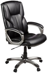 4. AmazonBasics High-Back Executive Chair
