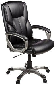 4.AmazonBasics High-Back Executive Chair