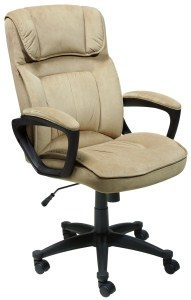 5.Serta Microfiber Executive Office Chair 43670