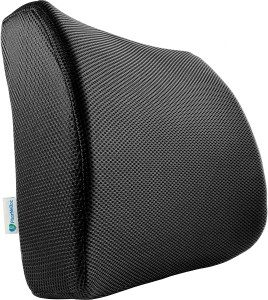 6.PharMeDoc Lumbar Pillow Support Cushion