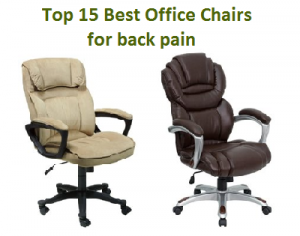 Top 15 Best Office Chairs for back pain in 2020