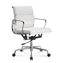 1. ARTIS DECOR SOFT PAD LOW AND HIGH BACK EXECUTIVE OFFICE CHAIR