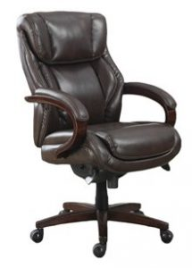 1. La-Z-Boy Bellamy Executive Bonded Leather Office Chair