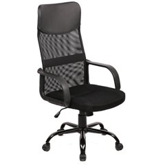 NEW-BLACK-MODERN-FABRIC-MESH-HIGH-BACK-OFFICE-TASK-CHAIR-COMPUTER-DESK-SEAT-O25-BY-BESTOFFICE