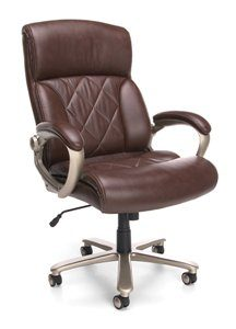 OFM Avenger Series Big and Tall Leather Executive Chair