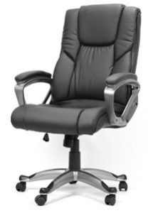 12. XtremepowerUS Big _ Tall Executive Office Chair With PU Leather
