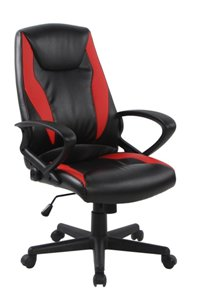 VIVA OFFICE Fashionable High Back Bonded Leather Racing Style Gaming Chair