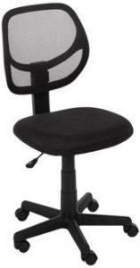6. AMAZONBASICS LOW-BACK COMPUTER CHAIR