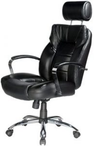 6. Comfort Products 60-5800T Commodore II Oversize Leather Chair
