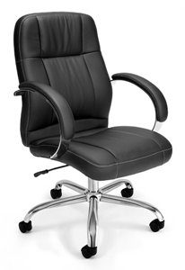 OFM Stimulus Series Leatherette Executive Chair