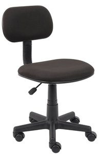 8. BOSS OFFICE PRODUCTS B205-BK FABRIC STENO CHAIR