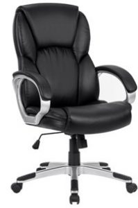 9. LANGRIA Modern Ergonomic High-Back Leather Computer Executive Office Chair