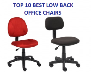 TOP 10 BEST LOW BACK OFFICE CHAIRS