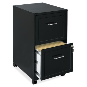 LORELL 16872 2-DRAWER MOBILE FILE CABINET