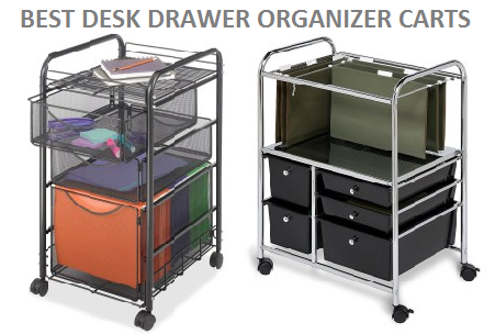 BEST DESK DRAWER ORGANIZER CARTS