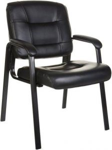 Amazon Basics Guest Chair, Black