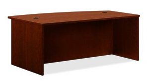 Basyx Bow Front Desk Shell