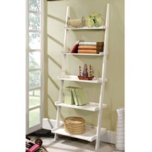 Casual Home 5-Tier Mission Style Bookcase