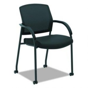 HON Lota Multi-Purpose Side Chair – Office Chair or Training Room Chair, Black (H2285)