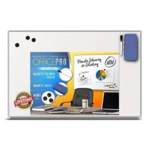 OfficePro 32×44 Inch Magnetic Dry Erase Board