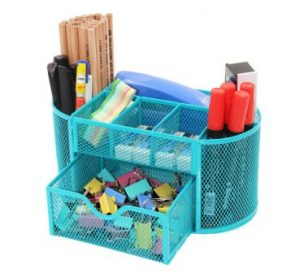 PAG Office Supplies Mesh Desk Organizer