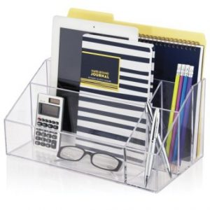 STORi Clear Plastic Craft and Desktop Organizer
