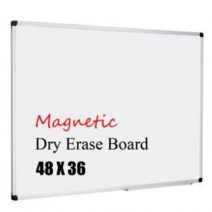 XBoard Magnetic 48×36-Inch Dry Erase Board
