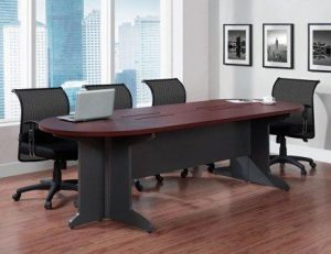 Ameriwood Home Pursuit Large Conference Table For 8