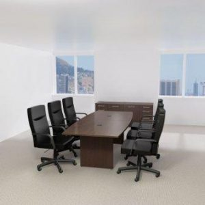 Bush Business Furniture Boat-Top Conference Table