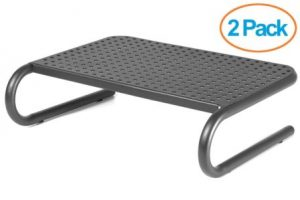 Halter LZ-309 Vented Metal Monitor Stand