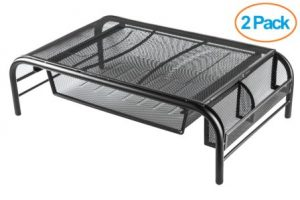 Halter Mesh Metal Monitor Stand and Riser