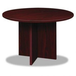 basyx BLC48DNN BL Laminate Series Round Conference Table