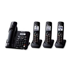 Panasonic KX-TG6644B DECT 6.0 Cordless Phone with Answering System