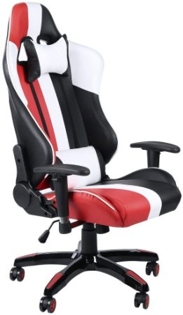 TOP GAMER ERGONOMIC GAMING CHAIR HIGH BACK SWIVEL COMPUTER OFFICE CHAIR